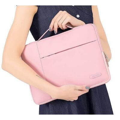 Pink Macbook Sleeve
