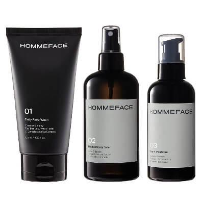skin care set for men