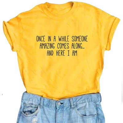 Funny t-shirt for women