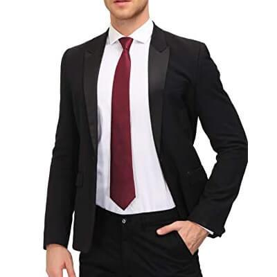 Classic Thin Silk Tie for Men
