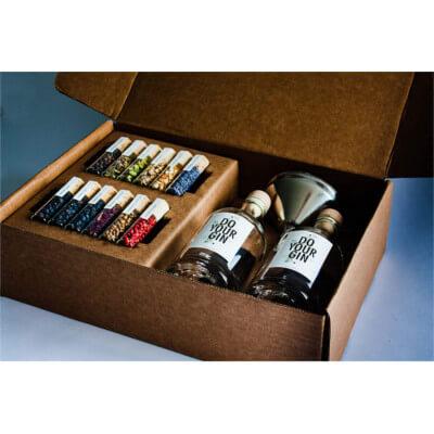 DIY Gin-Making Alcohol gift set