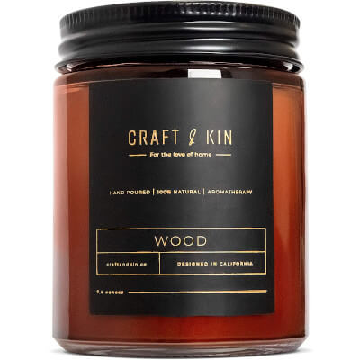 Wood Soy Candles for Men
