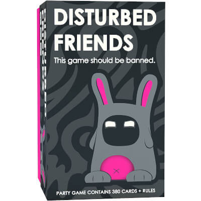 Disturbed Friends - Party card game