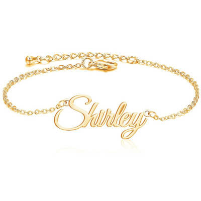 Personalized Name Bracelet for women