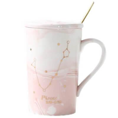 Coffee mug Pisces Zodiac sign