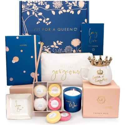 Royal Birthday Gift Basket for women