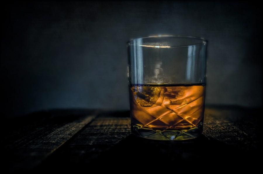 Whisky auf Eis
