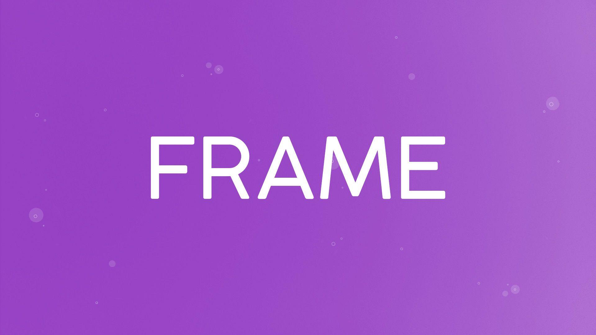 Controls: Frame