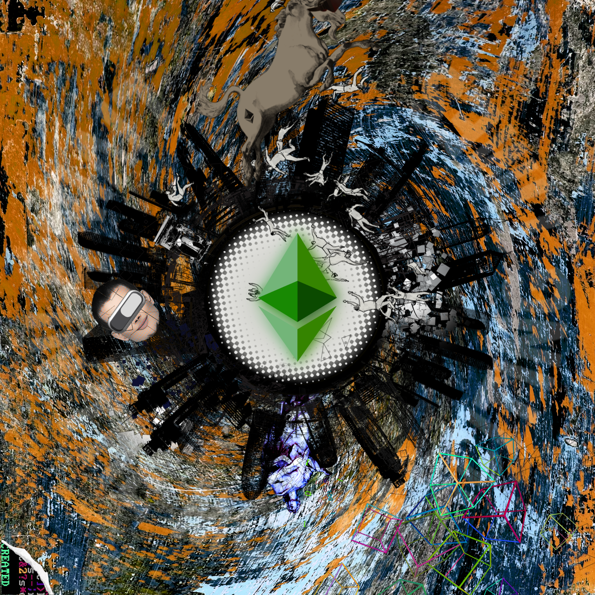 Ether Makes the Moon go Around