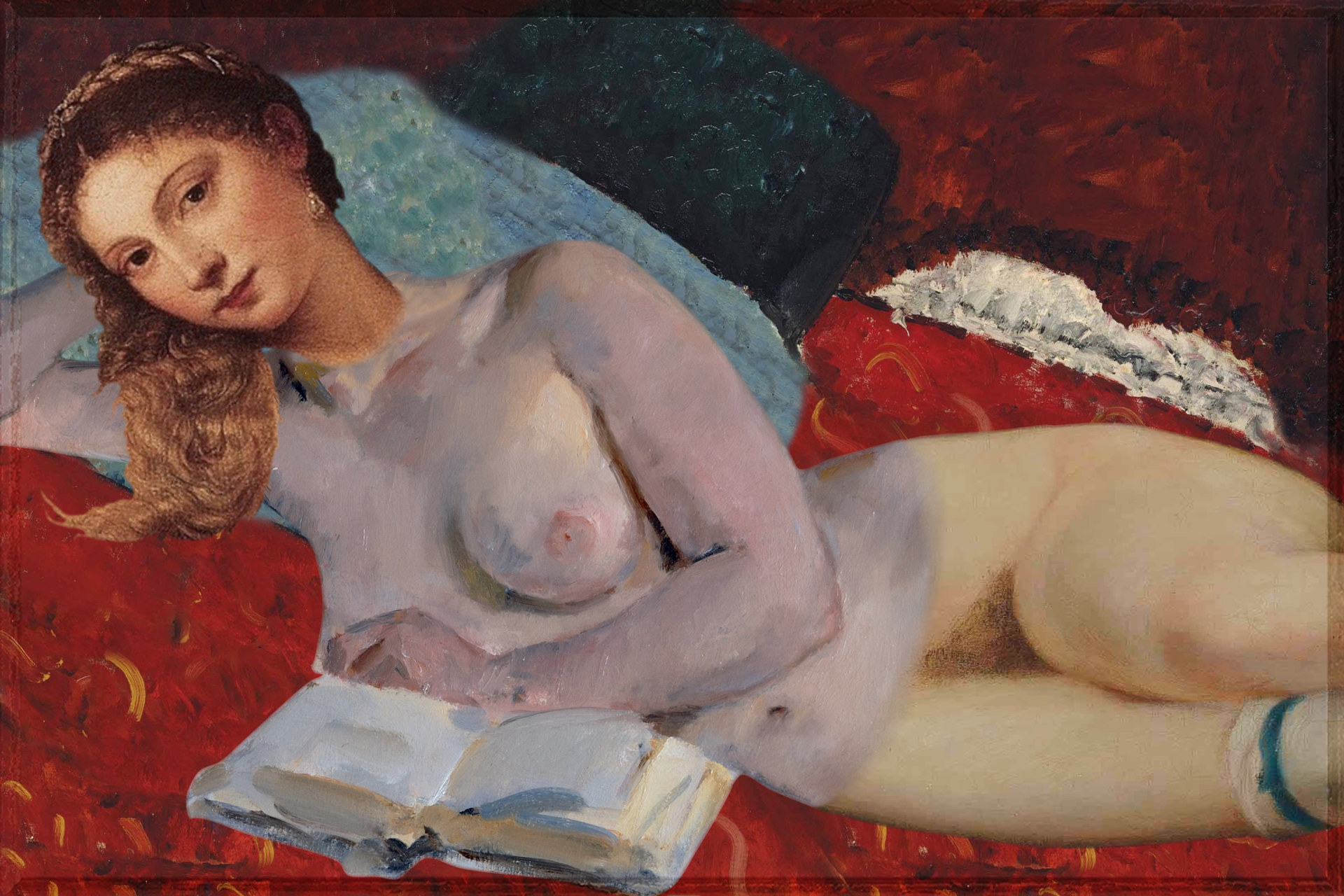 the Remixable Reclining Nude