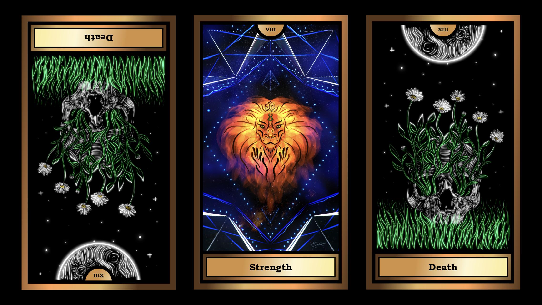 The Arcana Crypto Tarot
