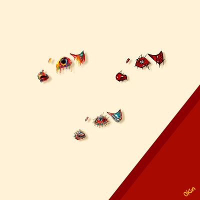 The Bulls Eyes Golden Tear - by Okin