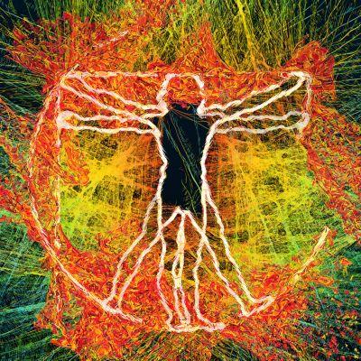 Vitruvian Man. Body and Soul