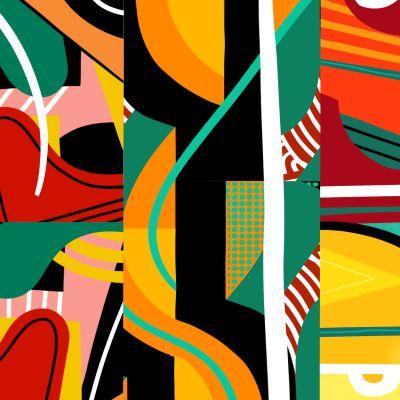 Happy Digital Kaleidoscope - by Tom Abbink