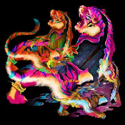 Tiger (Tigress) - by Reina Koyano