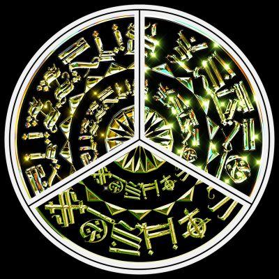 Cryptic Mandala - by King Debs