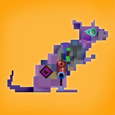 Rat - by Toe Moss
