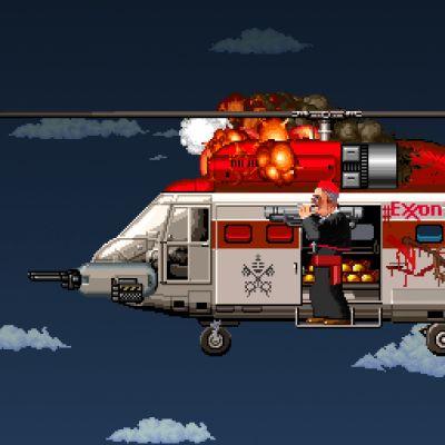Bertone's Helicopter
