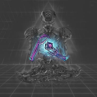 Cyborg Skeleton Hands