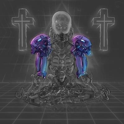 Cyborg Skeleton Arms & Shoulders