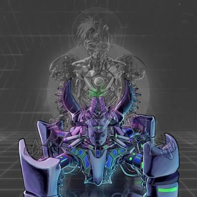 Cyborg Skeleton Legs