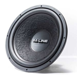 GLADEN M-LINE 15 – 38 cm High-Efficiency Subwoofer