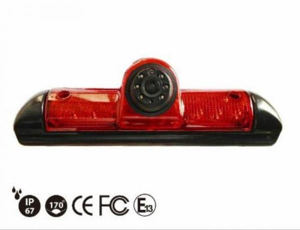 m-use remlicht-camera Fiat Ducato NTSC 170° + 11m kabel RCA