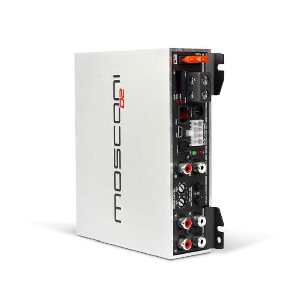 Mosconi D2 100.4 met DSP, 4 x 100 watt RMS