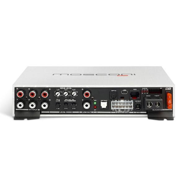 Mosconi D2 80.6 DSP, 6 x 80 watt RMS