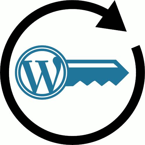WordPress User Password Reset