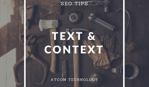 SEO Tip relevant text and context