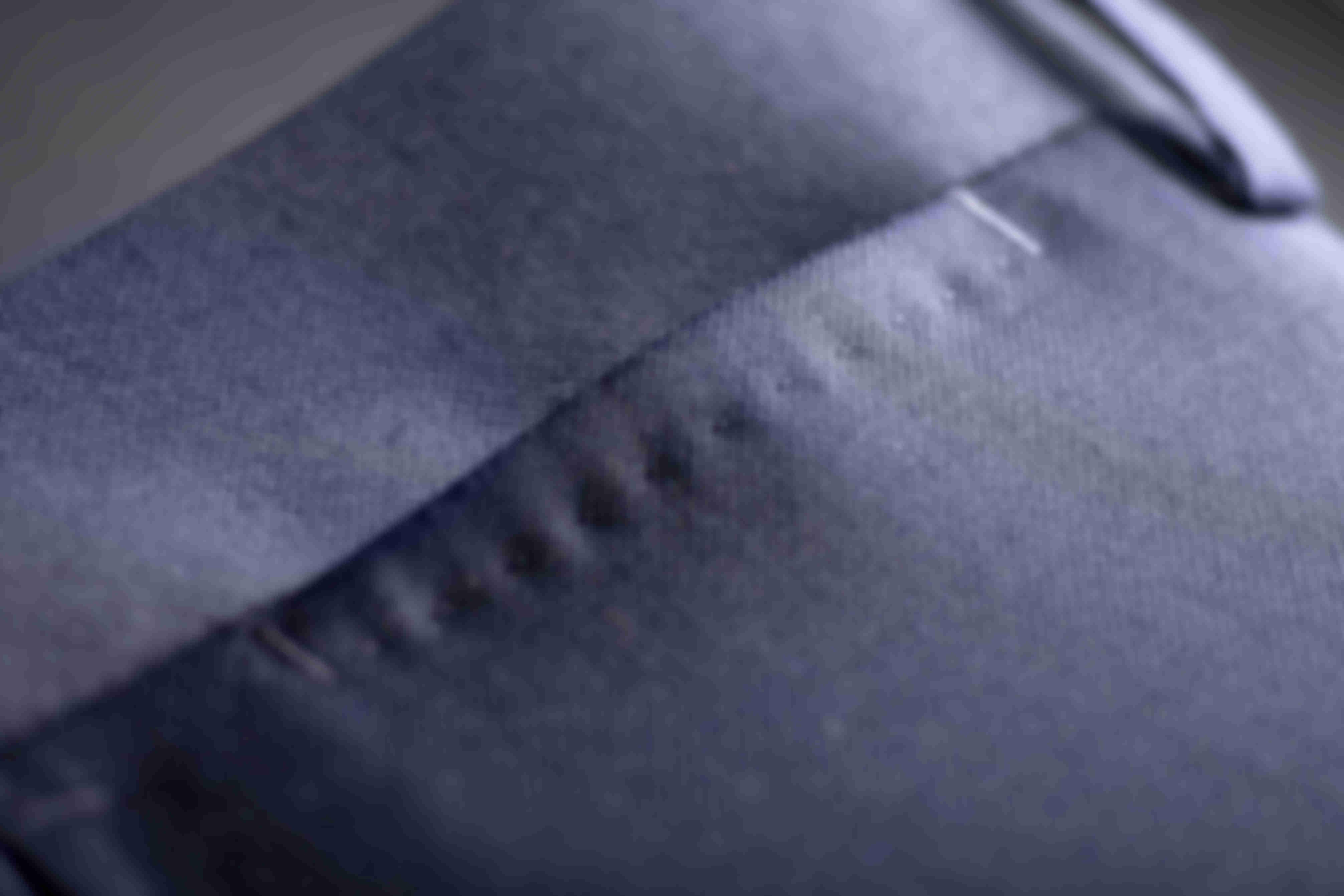 Détail sur la Poche Ticket avec AMF des pantalons Atelier Mesure