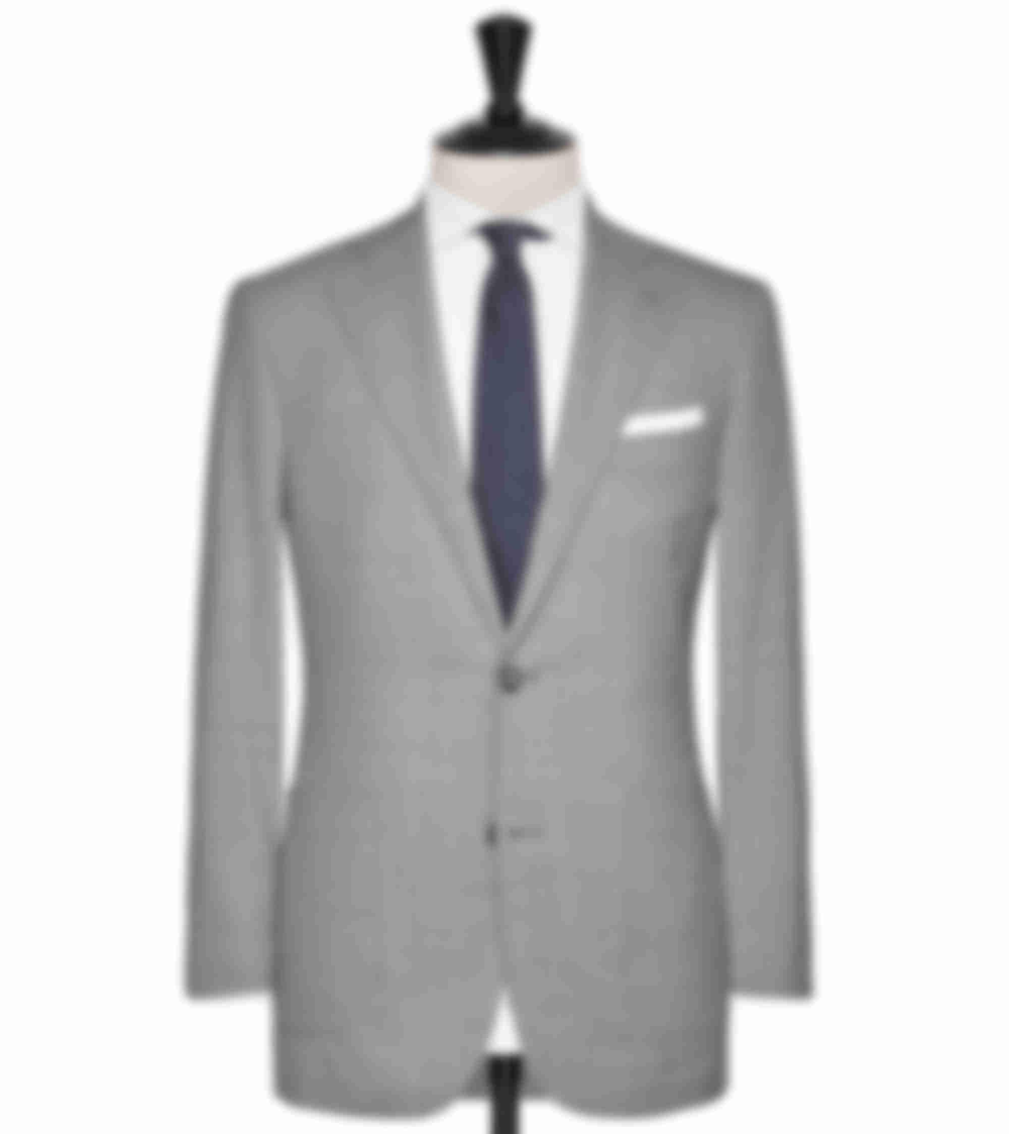 Costume business sur mesure gris clair Atelier Mesure
