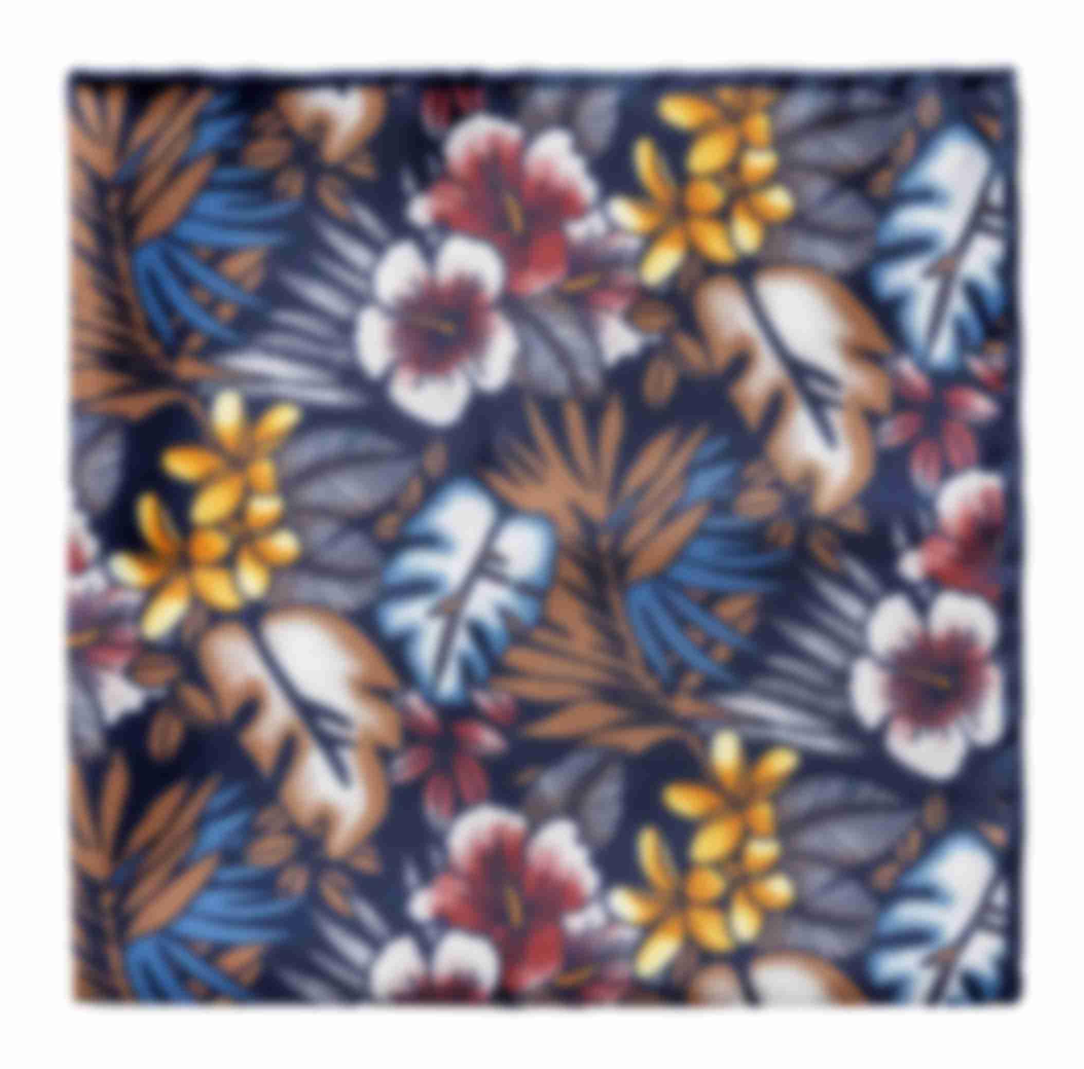 Pochette sur mesure imprimée floral Atelier Mesure