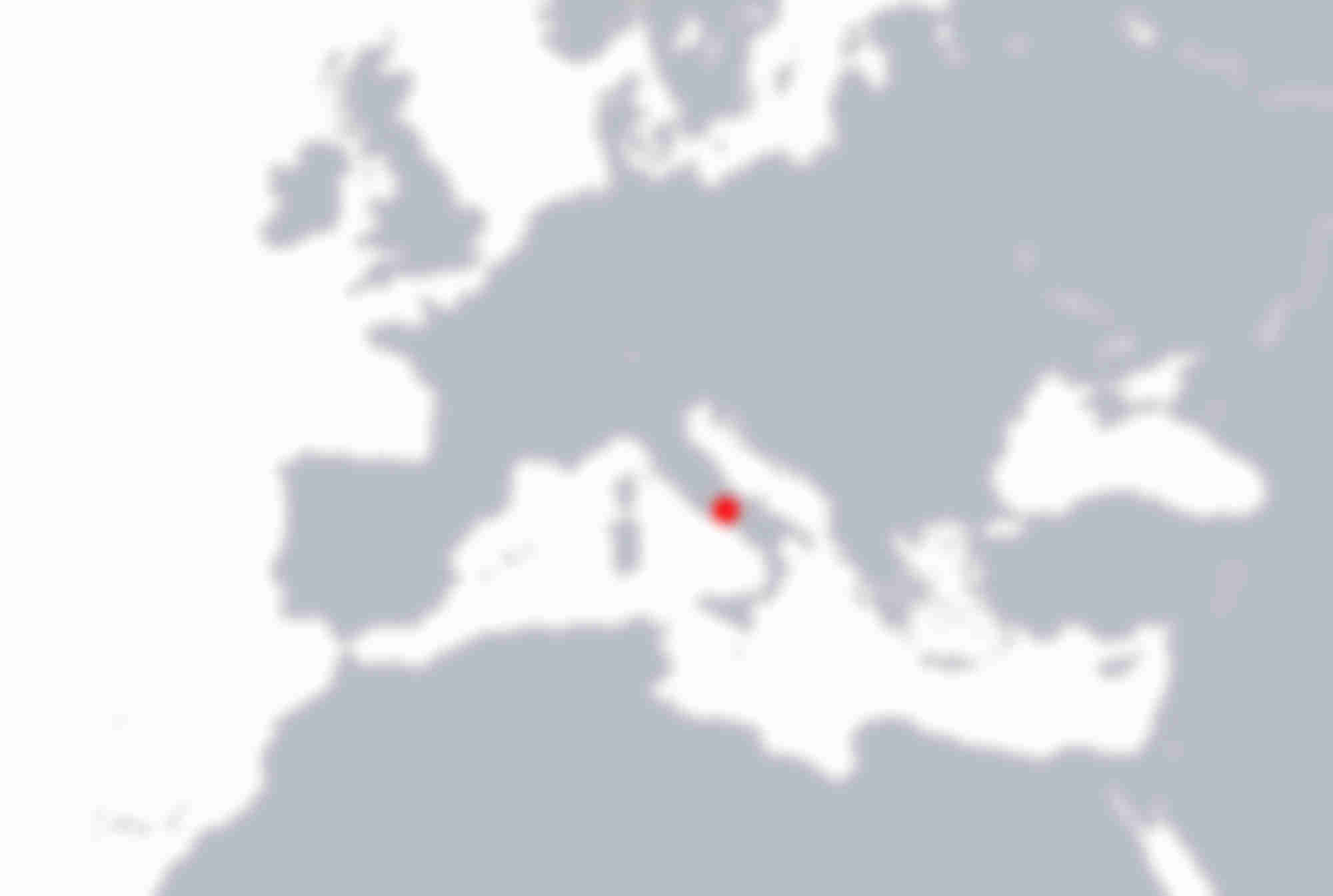 Carte emplacement Atelier Sartoria Napoli en Italie du Sud