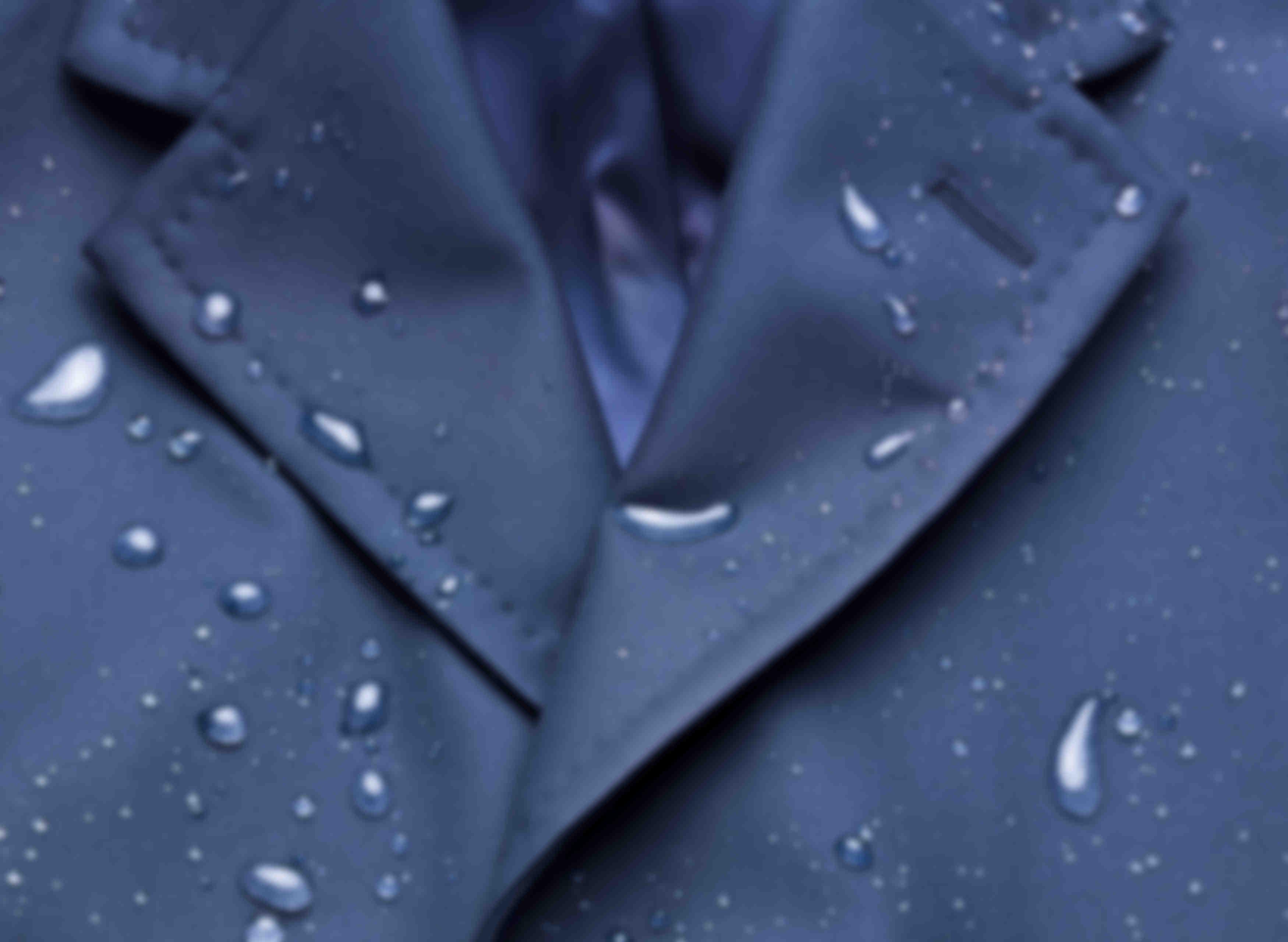 Manteau déperlant sur mesure Loro Piana par Atelier Mesure