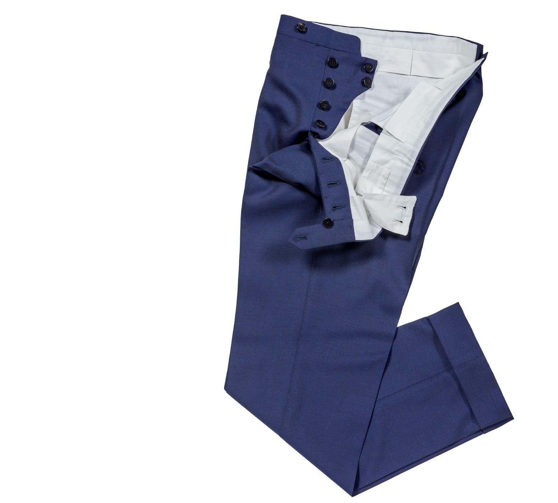 Pantalon sur mesure laine loro piana Atelier Mesure