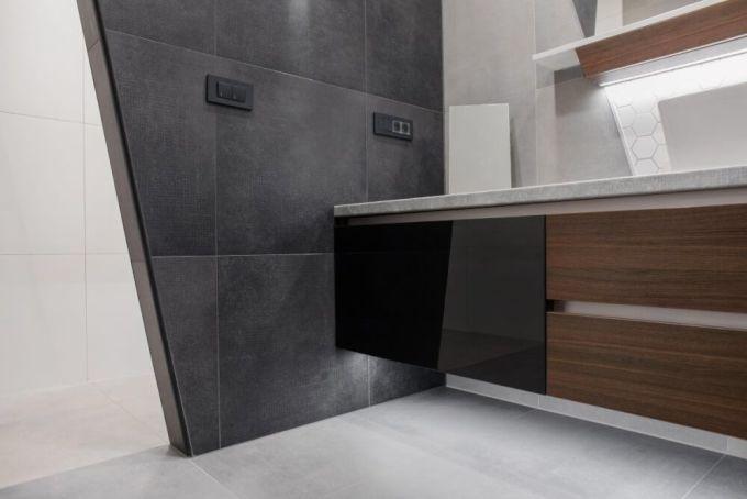 Kupaonica s lebdećim elementima