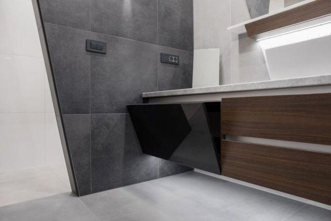 Kupaonica s velikim pločicama