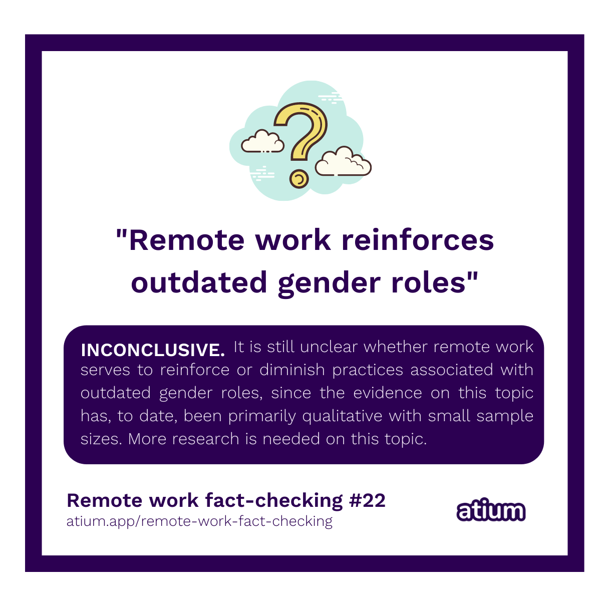 Remote work reinforces outdated gender roles