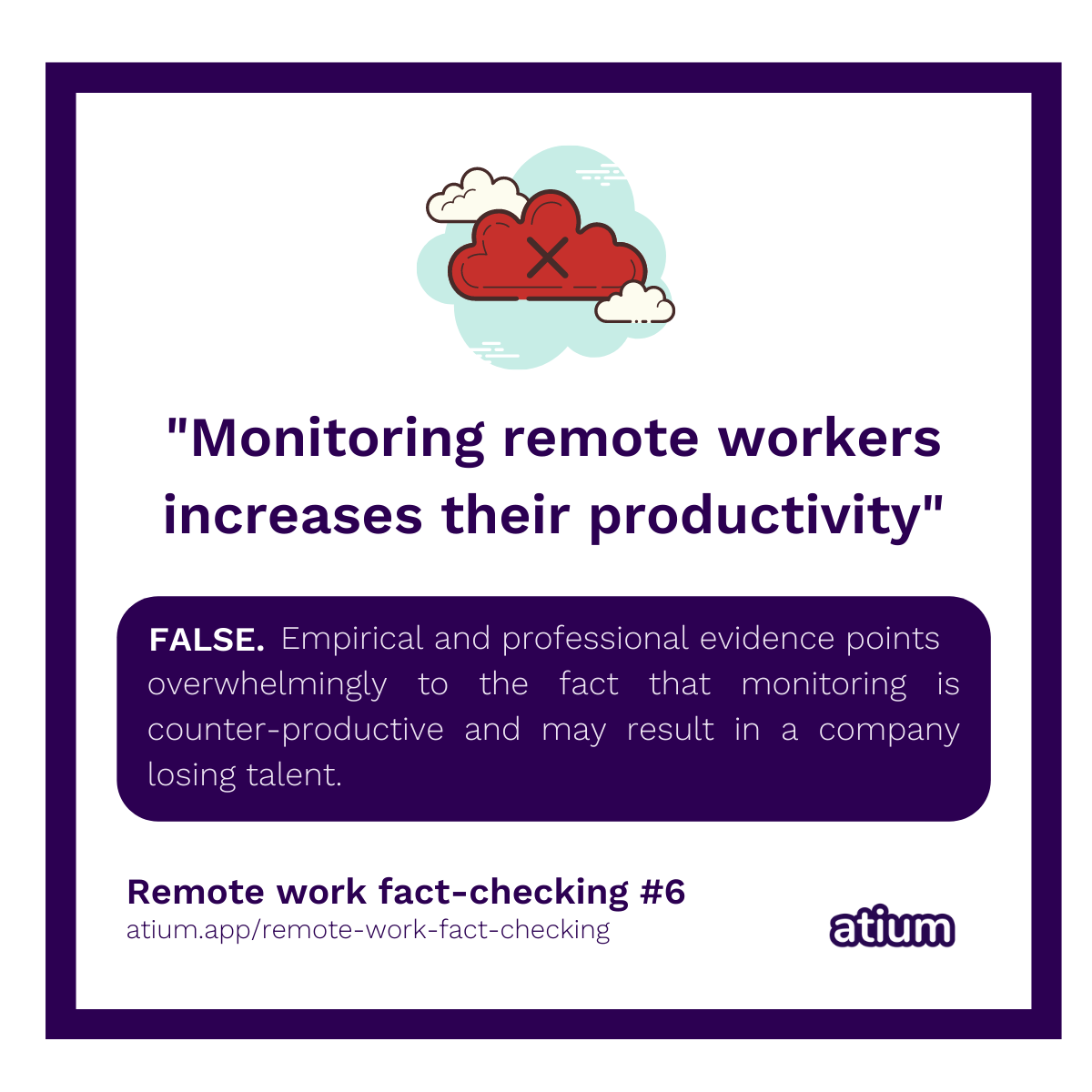 Monitoring remote workers increases their productivity