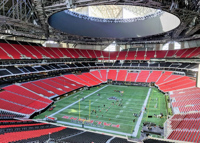 Mercedes-Benz Stadium in Atlanta