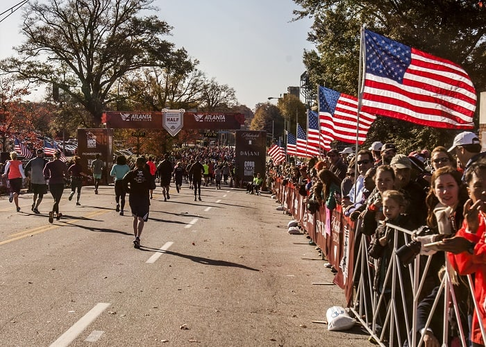 Atlanta Thanksgiving Day Marathon