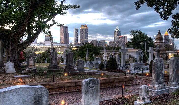 Historic Oakland Cemetery in Atlanta GA
