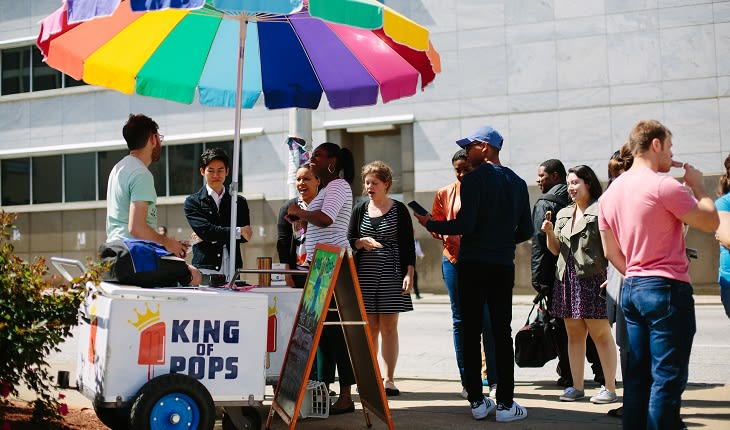 Atlanta King of Pops Stand