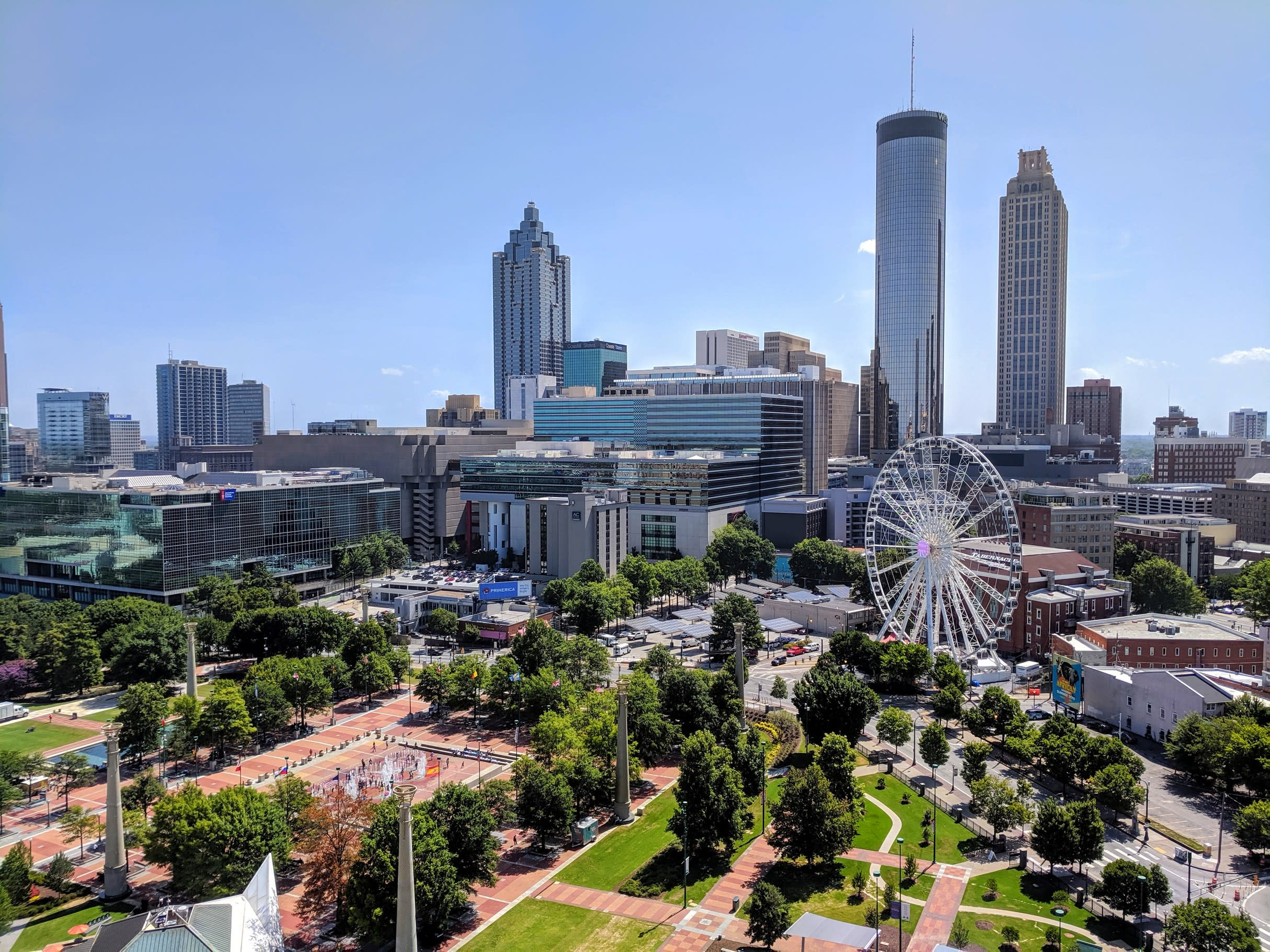 Centennial Olympic Park day time
