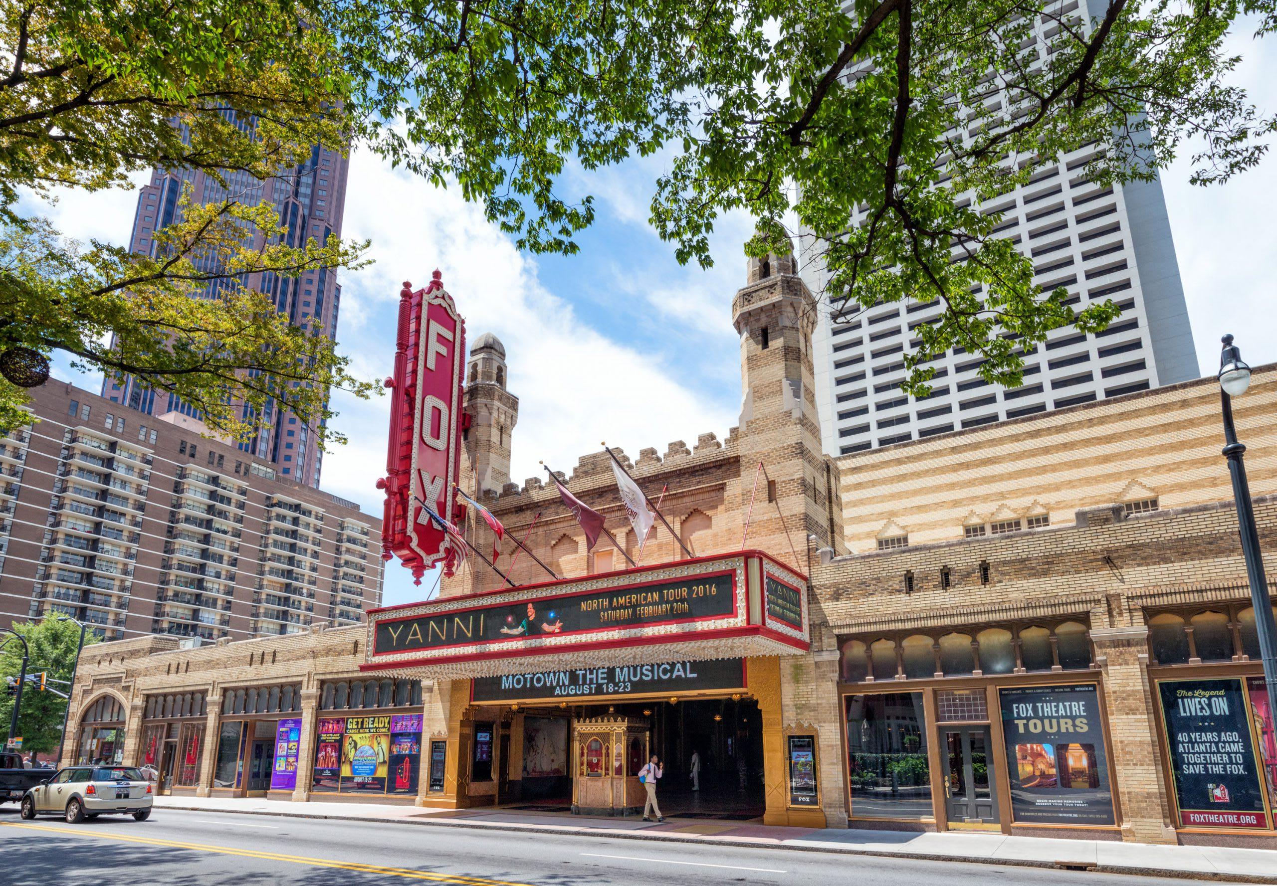 The Fox Theatre exterior