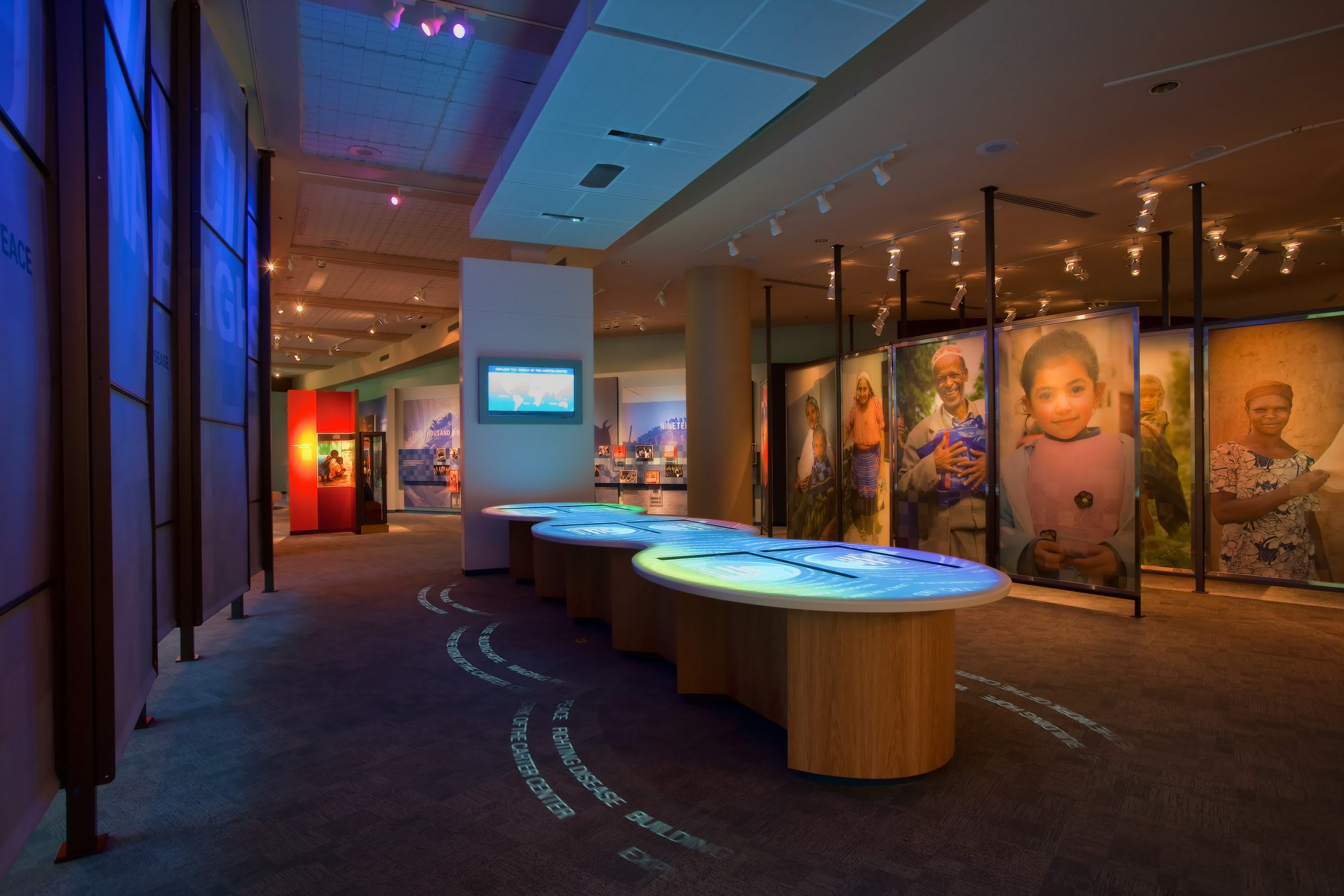 Jimmy Carter Museum displays
