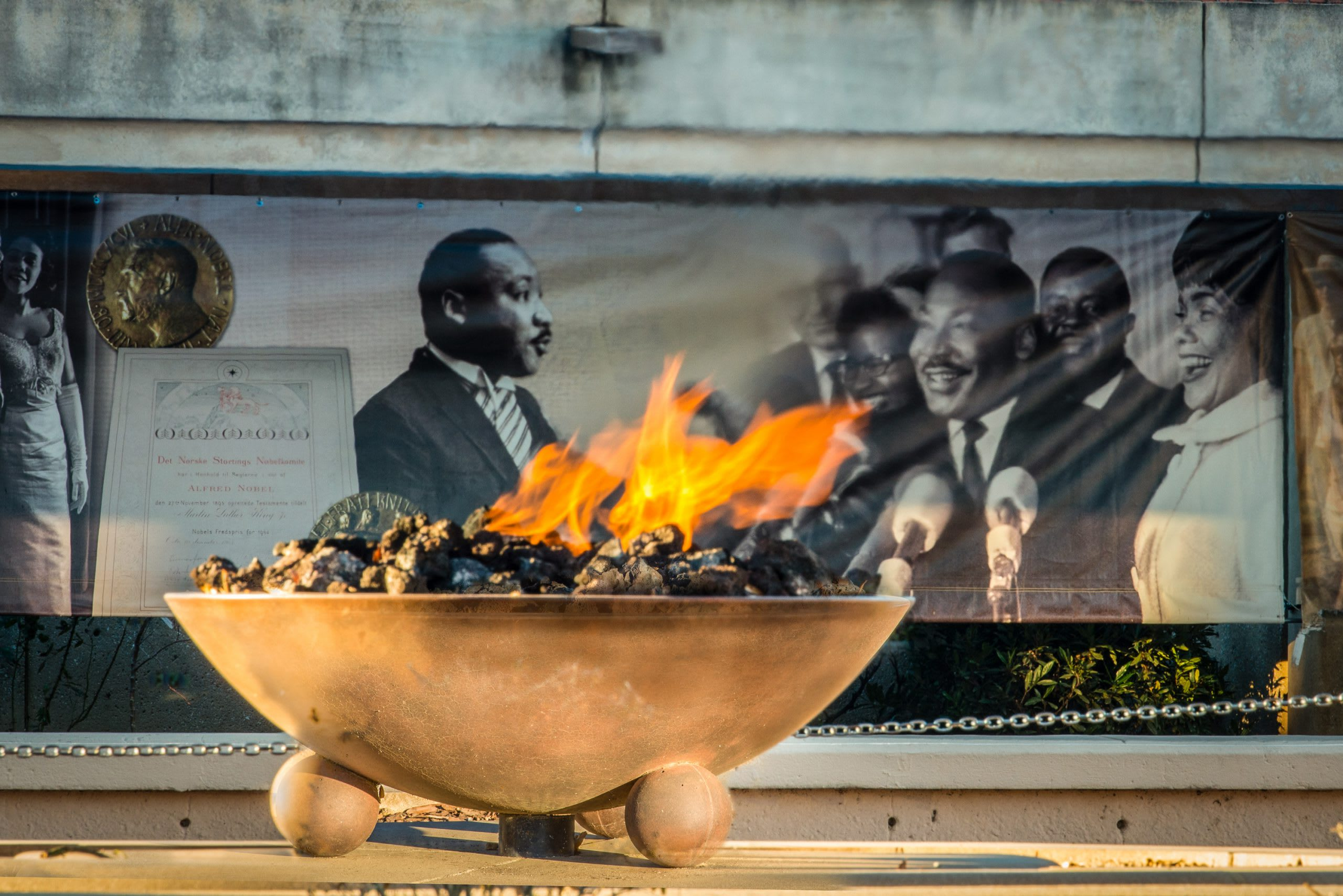 Atlanta MLK Center Eternal Flame