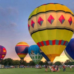 Atlanta Balloon Glow Event In Atlanta Ga